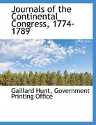 Journals Of The Continental Congress 1774-1789