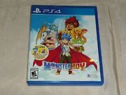 Monster Boy And The Cursed Kingdom Sony Playstation 4, 2018 Complete Stickers
