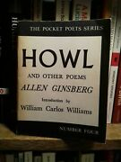 Howl Allen Ginsberg June 1967 City Lights Excellent Condition 19th Printing