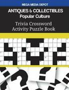 Antiques And Collectibles Popular Culture Trivia Crossword Activity Puzzle Bo...