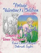Vintage Valentineand039s Children Grayscale Adult Coloring Book