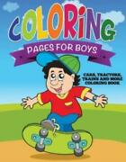 Coloring Pages For Boys Cars Tractors Trains And More Coloring Book