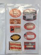 Cruise Steam Ship Memorabilia - Baggage/luggage/trunk/suitcase Stickers/labels