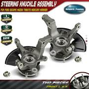 2x Wheel Hub Bearing Steering Knuckle For Ford Escape Tribute Front Left And Right