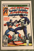 Artist Mike Barr Signed Photo Comic Book Cover Capt America 241 The Punisher