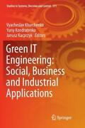 Green It Engineering Social, Business And Industrial Applications
