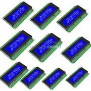10pcs 204 2004 20x4 Character Lcd Display Module For Arduino Blue Blacklight