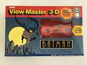 Batman The Animated Series View-master 3d 1993 Sealed Collectible