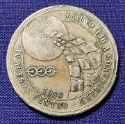 Panama 1938 Central American Games Olympic Visitor Token Copper Nickel 32mm
