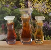 Lot Of 3 Vintage Giorgio Of Beverly Hills Perfume 1/4oz 7.5ml And 3.5ml Edt