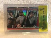 2017 Bowman Chrome Red Gleyber Torres Rc Talent Pipeline And039d /5 Hot