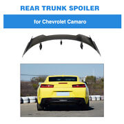 Fit For Chevrolet Camaro Coupe 2016-2020 Rear Spoier Trunk Wing Carbon Fiber