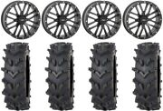 System 3 St-3 Black 20 Wheels 36 Outback Maxand039d Tires Kawasaki Mule Pro Fxt