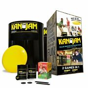 Kan Jam 2 In 1 Ultimate Disc Game Original And Gliders Indoor/outdoor Value Pack P