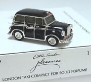 Estee Lauder Harrods Taxi Compact For Solid Perfume Orig Boxes Mibb 1/300 Rare