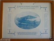 The First Cyprus Military Aircraft Plane 1928 Kyrenia Aviation Print Poster