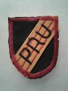 Authentic Us Army 5th Special Forces Group Pleiku Pru Flash Patch Insignia