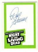 1988 Night Of The Living Dead 20th Anniversary Russ Streiner Autograph Card