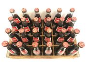 Rare 24 1986 Coca-cola Albany Ny Collectible Bottles And Wooden Coke Crate