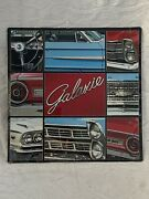 New Tin Retro Metal Sign Vintage Ford Galaxie Car Picture Collage