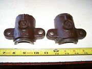 Sattley Montgomery Ward 2hp Main Bearing Caps Hit Miss Gas Engine Steam Tractor