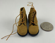 Alert Line Wwii Us Army Soldier Military Boots 1/6 Scale Uniform Accessory