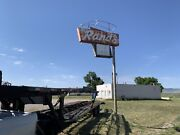 Vintage Collectable Neon Sign Classic Patina Bar Grill Man Cave