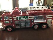 Hess 2005 Emergency Fire Truck Broken For Spare Parts