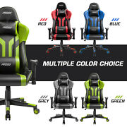 Gaming Chair Office 180anddeg Recliner Racing Style Computer Seat Swivel Desk Chair
