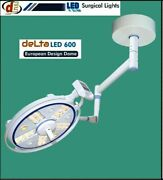 Delta Led 600 Lamp Operation Theater Light Ceiling/ Wall Mount Endo Mode Light Q
