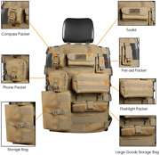 Car Seat Cover Case Organizer Multi Storage Holder Pockets Fits Most Seats