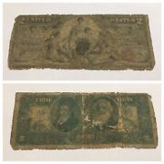 Vintage Rare 2 1896 Educational Silver Certificate Two Dollar Bill Red Seal