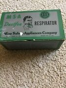 Vintage 1940s Msa Miners Respirator Supplies By Mine Safety App.co.