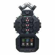 Zoom H8 Handy Recorder 12 Track 8 Input For Field Recording Music And Podcasting