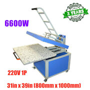 Us Stock 31in X 39in Large Format Manual Textile Transfer Heat Press Machine