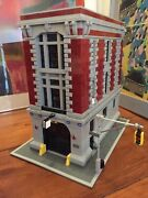 Lego 75827 Ghostbusters Firehouse Headquarters Only No Minifigures Free Post