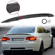 Carbon Look Rear Wing Trunk Lip Spoiler For 07-13 Bmw E92 Coupe 328i 335i M3