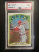 1972 Topps 559 Pete Rose Reds Psa 9  Centered High End