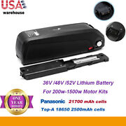48v 52v 13ah Hailong Lithium Ion Ebike Battery For 1000w Electric Bicycle Motor