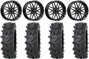 Msa Milled Bandit 20 Wheels 36 Outback Maxand039d Tires Can-am Maverick X3