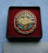 Pin Badge Russian Foreign Intelligence Special Service Academy Svr Russia Spy