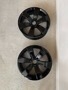 Can Am Spyder F3 15andrdquo Oem Fat Black Chrome Wheel Set-2 Front And 1 Rear