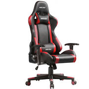 Gaming Chair Office Racing Style 180anddeg Recliner Computer Seat Swivel Desk Chair