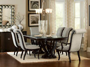 Espresso Finish 7 Pieces Dining Room Kitchen Rectangular Table And Chairs Set Ic5j