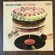 Rolling Stones Mick Jagger Keith Richards Charlie Watts - Signed Album Gai Auth