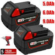 For Milwaukee M18 18v Lithium Xc 6.0 Ah Extended Capacity Battery 48-11-1860 New