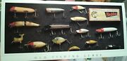 Lot 150+ Heddon Antique Fishing Lures Post Card Nos 8x4 Fishermen Collection