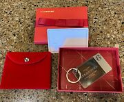 Starbucks Coffee Sterling Silver Gift Card Keyring - New With Stickers - 0