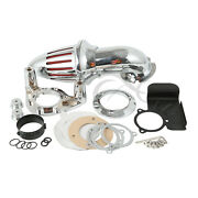 Air Cleaner Kits Intake Filter Fit For Harley Touring Road King Glide 2008-2012