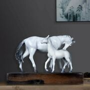 22''bronze Fine Copper Four Horse Which Means Success Immediately Upon Arrival